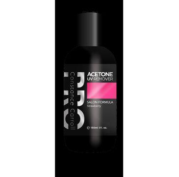 Constance Carroll Pro – zmywacz acetonowy Acetone UV Remover Strawberry (150 ml)