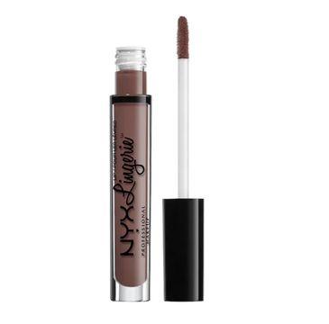 NYX Professional MakeUp Lingerie Liquid Lipstick matowa pomadka w płynie 14 Confident 4ml