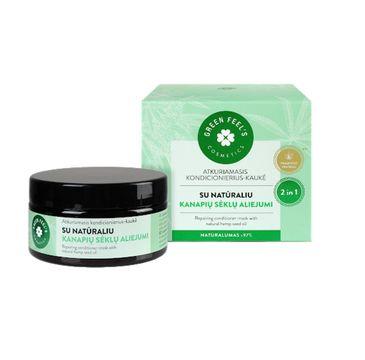 Green Feel's – Repairing Conditioner - Mask regenerująca odżywka - maska do włosów olej konopny (200 ml)