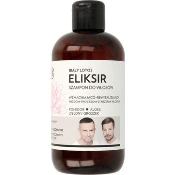 WS Academy – eliksir wzmacniająco-rewitalizujący do włosów Biały Lotos (250 ml)