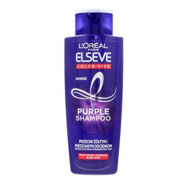 Loreal Elseve Color - Vive Purple szampon przeciw żółtym i miedzianym odcieniom 200 ml