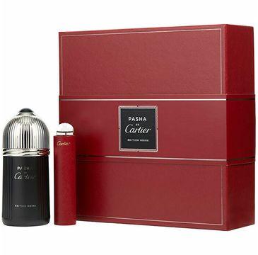 Cartier Pasha de Carier Edition Noire (zestaw woda toaletowa spray 100 ml + miniaturka wody toaletowej 15 ml)