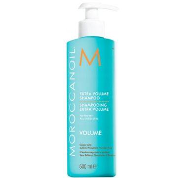 Moroccanoil Volume Extra Shampoo (szampon zwiększający objętość włosów 500 ml)