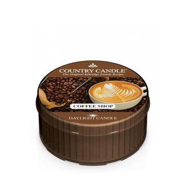 Country Candle – Daylight świeczka zapachowa Coffee Shop (35 g)