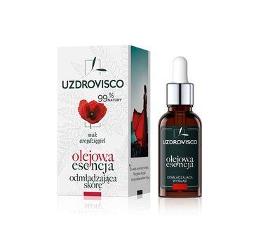 UZDROVISCO – Olejowa esencja odmładzająca do twarzy Mak i Arcydzięgiel (30 ml)