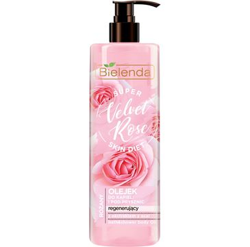 Bielenda Super Skin Diet Velvet Rose (olejek do kąpieli i pod prysznic 400 ml)