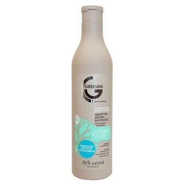 Greenini – Kaolin & Aloe Shampoo intensywnie oczyszczający szampon do włosów Biała Glinka i Aloes (500 ml)