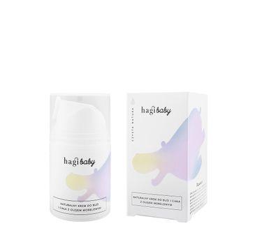 Hagi Cosmetics Baby naturalny krem do buzi i ciała z olejem morelowym (50 ml)