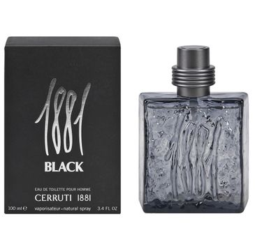 Cerruti 1881 – Black Pour Homme woda toaletowa spray (100 ml)