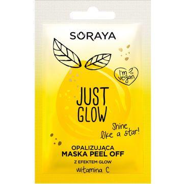 Soraya Just Glow – opalizująca maska peel-off z witaminą C (1 szt.)