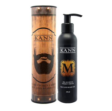 KANN Face And Beard Gel żel do mycia twarzy i brody 150 ml