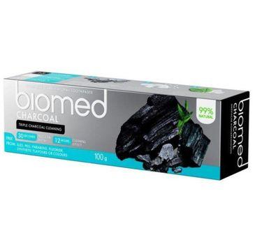 Biomed Charcoal Complete Care Natural Toothpaste wybielająca pasta do zębów 100g