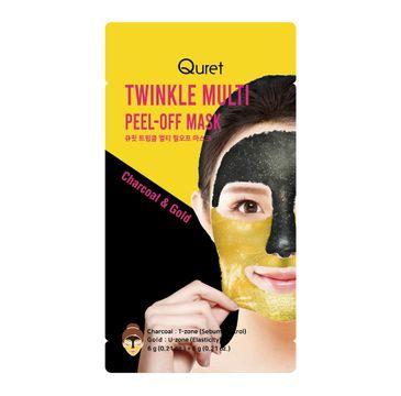 Quret – Twinkle Multi Peel-off Mask maska do twarzy peel-off (12 g)