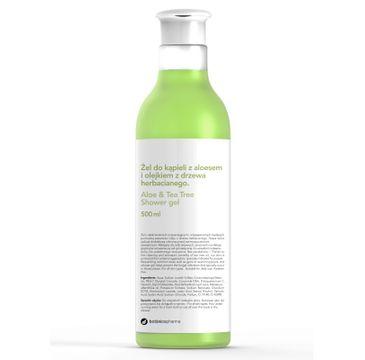 Botanicapharma – Aloe & Tea Tree Shower Gel żel do kąpieli z aloesem i olejkiem z drzewa herbacianego (500 ml)