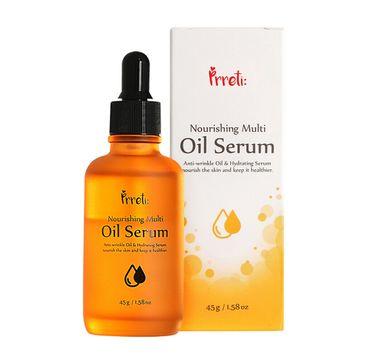 Prreti Nourishing Multi Oil – serum nawilżające serum do twarzy z kompleksem olejków (45 g)