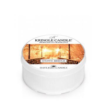 Kringle Candle – Daylight świeczka zapachowa Snowy Bridge (42 g)