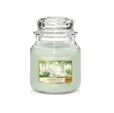 Yankee Candle – Świeca zapachowa średni słój Afternoon Escape (411 g)