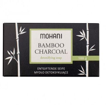 Mohani – Mydło z aktywnym węglem bambusowym Bamboo Charcoal Detoxifying Soap (100 g)