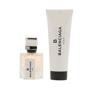 B. Balenciaga zestaw woda perfumowana spray 30ml + balsam do ciała 75ml