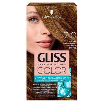 Gliss – Color (krem koloryzujący nr 7-0 Beżowy Ciemny Blond 1 op.)