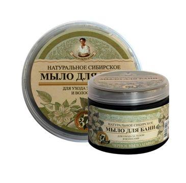 Babuszka Agafia Naturalne syberyjskie czarne mydło do skóry i włosów 500 ml
