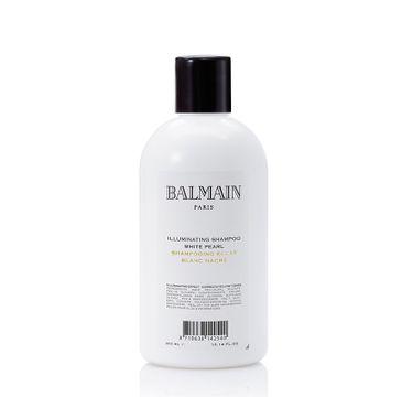 Balmain Illuminating Shampoo White Pearl szampon korygujący odcień do włosów blond i rozjaśnianych 300ml