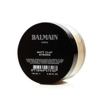 Balmain Matt Clay Strong matująca glinka do stylizacji włosów 100ml