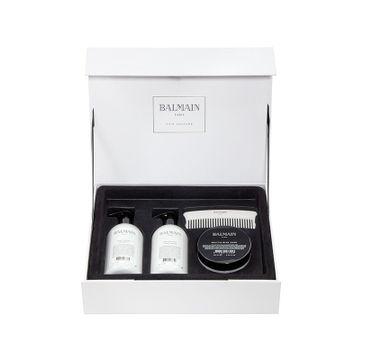Balmain Revitalizing Care zestaw prezentowy do regeneracji włosów Shampoo 300 ml + Conditioner 300 ml + Mask 200 ml + grzebień