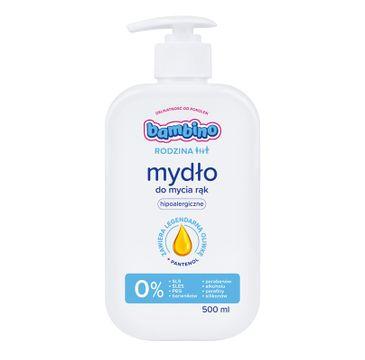 Bambino Rodzina mydło do rąk hipoalergiczne 500 ml