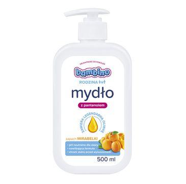 Bambino Rodzina mydło do rąk o zapachu Mirabelki (500 ml)