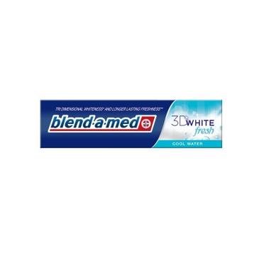 Blend - a -med  Pasta do zębów 3D White, Fresh, Cool Water (100 ml)