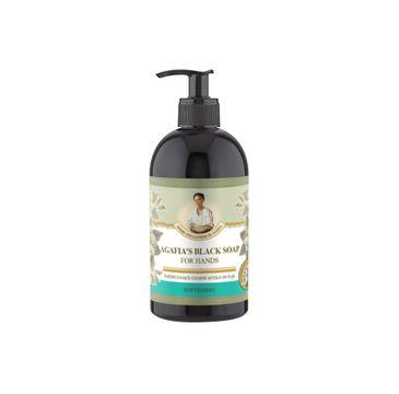 Bania Agafii Agafia's Black Soap zmiękczające czarne mydło do rąk (500 ml)