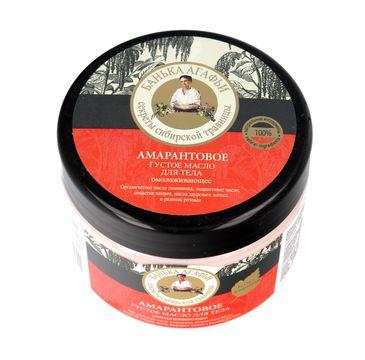 Bania Agafii masło do ciała do każdego typu skóry odżywcze 300 ml