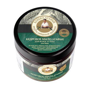 Bania Agafii mydło ciała i włosów do każdego typu skóry i włosów cedrowe (300 ml)