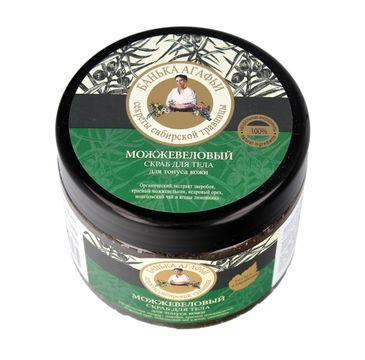 Bania Agafii Scrub peeling do każdego typu skóry delikatnie oczyszczający jałowcowy (300 ml)