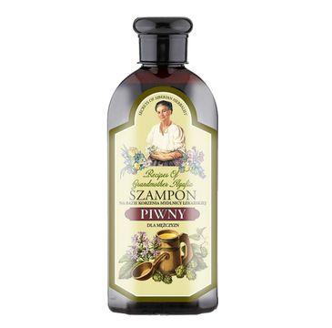 Bania Agafii Szampon piwny dla mężczyzn przeciw wypadaniu włosów (350 ml)