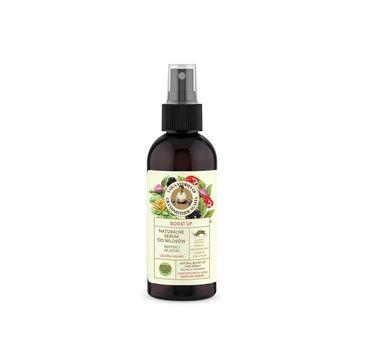 Bania Agafii Tajga Stories naturalne serum do włosów zwiększające objętość z leuzeą i mumio (170 ml)