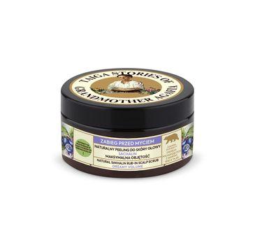 Bania Agafii – Tajga Stories naturalny peeling do skóry głowy z białą glinką (100 ml)