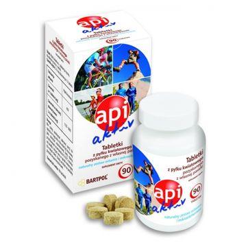 Bartpol Api Aktive Tabletki z Pyłkiem Kwiatowym suplement diety 90 tabletek