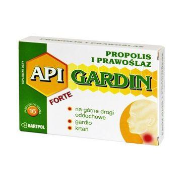 Bartpol Api Gardin Forte Propolis i Prawoślaz suplement diety 16 pastylek