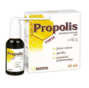 Bartpol Propolis Forte etanolowy ekstrakt 10% suplement diety 45ml