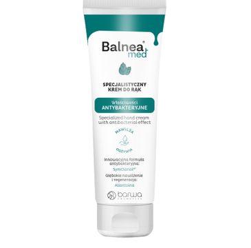 Barwa Balnea Med – antybakteryjny krem do rąk (60ml)