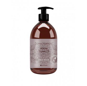 Barwa Barwy Harmonii Natural Shower Oil olejek pod prysznic Cedar Wood 440ml