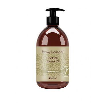 Barwa Barwy Harmonii Natural Shower Oil olejek pod prysznic Green Olive 440ml