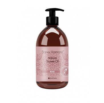 Barwa Barwy Harmonii Natural Shower Oil olejek pod prysznic Rose 440ml