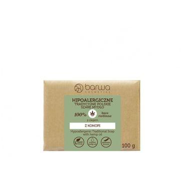 Barwa – Hipoalergiczne mydło szare z olejem z konopi (100 g)