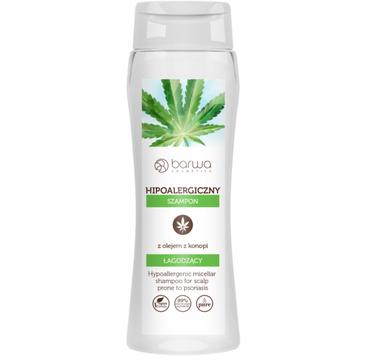 Barwa Hipoalergiczny Łagodzący szampon z olejem z konopi (400 ml)