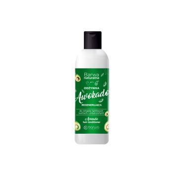 Barwa – Naturalna Awokado Odżywka regenerująca do włosów suchych,łamliwych i zniszczonych (200 ml)