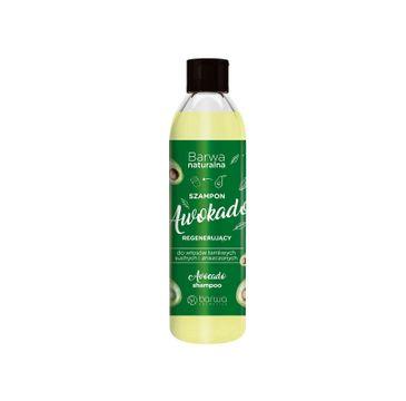 Barwa – Naturalna Awokado Szampon regenerujący do włosów suchych,łamliwych i zniszczonych (300 ml)