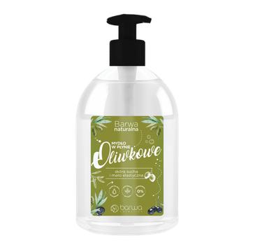 BARWA Naturalna Mydło w płynie Oliwkowe (500 ml)